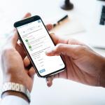 Moderierter Chat Voting auf dem Smartphone